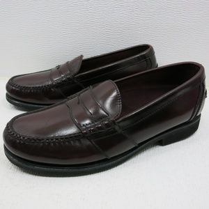 Rockport Full Strap Leather Dress Penny Loafers 9